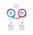circle label infographic art vector image vector image