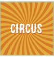 Circus Vintage Swirl Sunburst Lines Background vector image