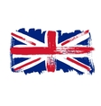 Flag of Great Britain on a white background vector image vector image