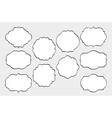 Hand Drawn Frames Set vector image vector image