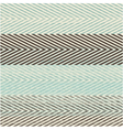 Large zig zag pattern vector image vector image