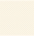 polka dot seamless delicate pattern dotted vector image vector image