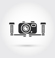 underwater camera icon vector image vector image