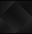 abstract geometrical monochrome circle pattern vector image vector image