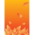 autumn fall vector image vector image