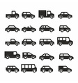 Cars icons vector image