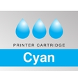 Color CMYK Icon Set vector image vector image