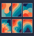 cover abstract colorful vector image