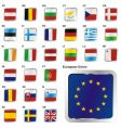 European union states set vector image