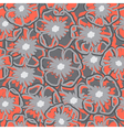 Flower pattern art vector image