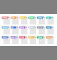 format file document pictogram file vector image