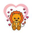 happy valentines day vector image vector image