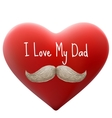 I love my dad EPS 10 vector image vector image