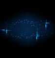 light circuit digital technology vector image vector image