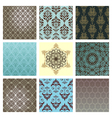 Retro wallpaper set vector | Price: 1 Credit (USD $1)