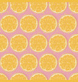 seamless oranges background vector image