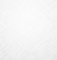 White linen texture vector image vector image