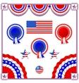 National American symbolics vector image