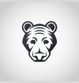 american black bear logo icon design vector image vector image