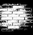 brick wall texture distress overlay effect vector image vector image