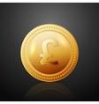 Coin GBF vector image