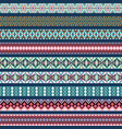 set ornamental braid strips colored vector image vector image