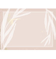 trendy chic nude pink gold blush background vector image vector image