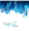 Abstract watercolor header background vector image vector image
