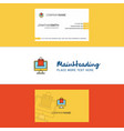 Beautiful online shopping logo and business card