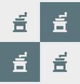 coffee grinder icon simple vector image