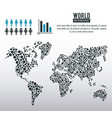 earth world infographic vector image