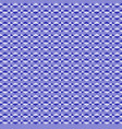 zigzag patternblue white intermittent line vector image
