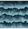 blue pixel waves backdrop vector image vector image