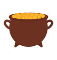 gold pot design vector image