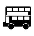 london bus classic icon vector image vector image