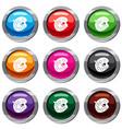 palette set 9 collection vector image