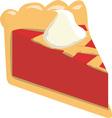 Pie Slice vector image vector image