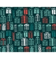 seamless pattern with Christmas or birthday vector image
