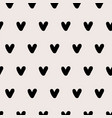 simple design pattern tiny elements heart vector image