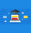 training online training online lessons education vector image
