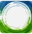 Digital geometric lines circles abstract vector image