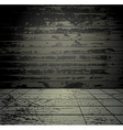 Concrete grunge room vector image