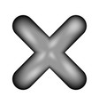 delete sign icon vector image