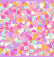 festive seamless pattern with confectionery vector image vector image