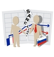 France sanctions against Russia vector image vector image
