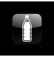 liquid bottle vector image vector image
