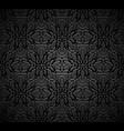 vintage black background vector image