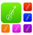 cello set collection vector image vector image
