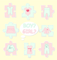 clothes-for-baby vector image