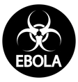 Ebola virus icon vector image